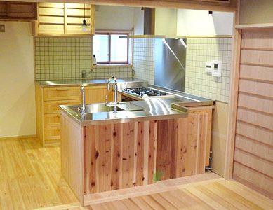 天然木 オーダーキッチン