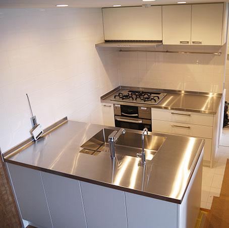 並列型キッチン