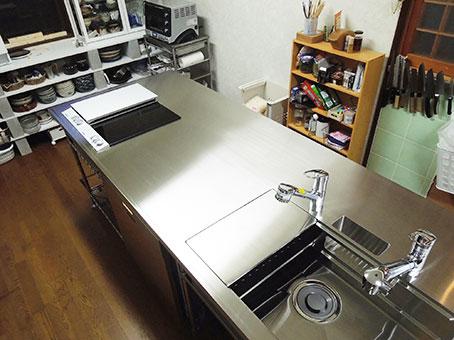 エレクター キッチン