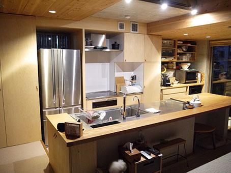 東京都世田谷区のオーダーキッチンの施工前写真です。